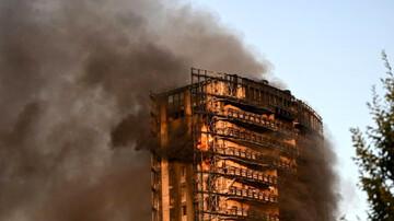 دستگیری فردی که خانهای را به آتش کشیده بود از روی لایو اینستاگرامی/ فیلم