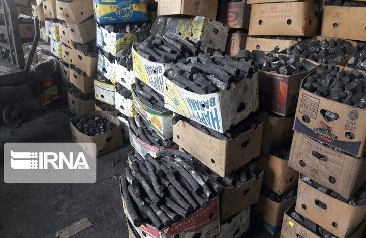 کشف ۱۳ تن زغال و چوب قاچاق در کازرون