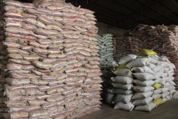 کشف ۱۵ تن برنج خارج از شبکه در بجنورد