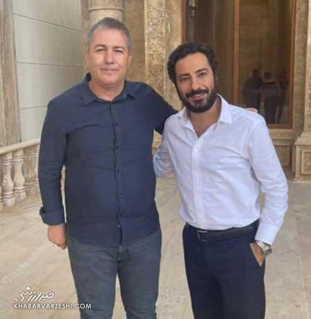 دیدار نوید محمدزاده با سرمربی تیم ملی