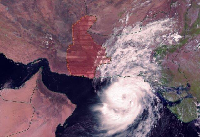 نزدیک شدن طوفان حارهای به جنوب سیستان و بلوچستان / مردم چابهار به هیچ وجه در سطح شهر تردد نکنند