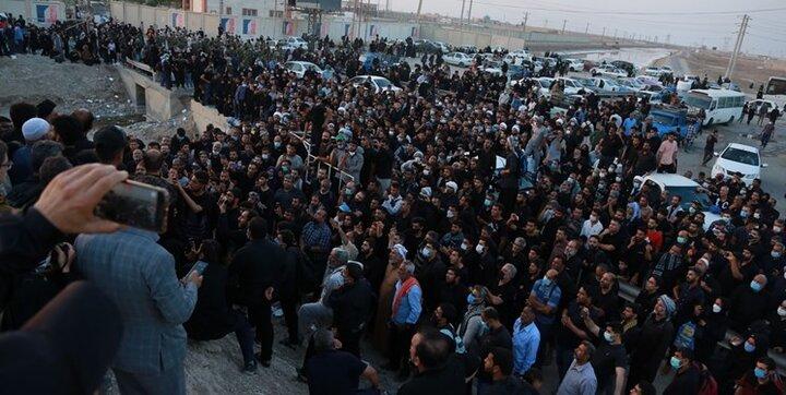 ورود ۱۸ هزار زائر اربعین از مرز مهران