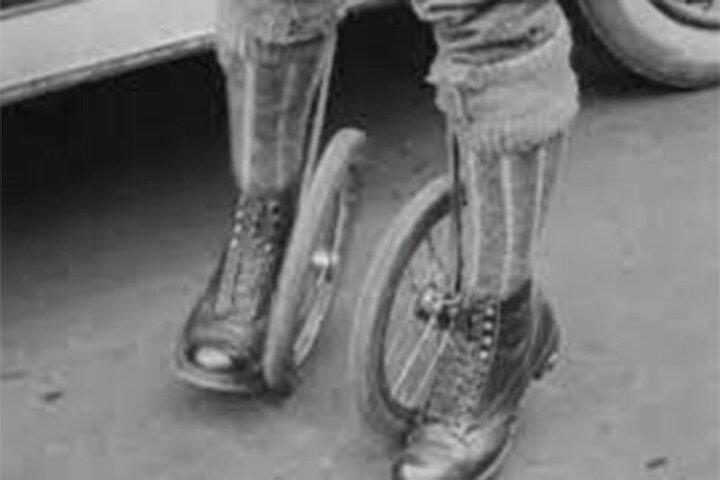 تصاویری از اولین اسکیت و کفشچرخدار در سال ۱۹۲۳ / فیلم