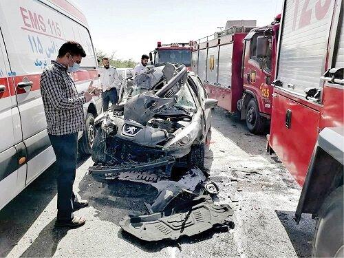 واژگونی مرگبار آمبولانس هنگام مأموریت نجات