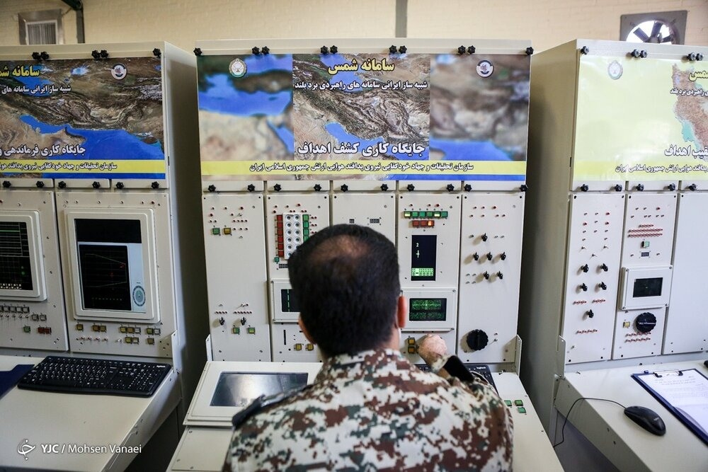 رونمایی از سامانههای شمس و هرمز در نیروی پدافند هوایی ارتش / تصاویر