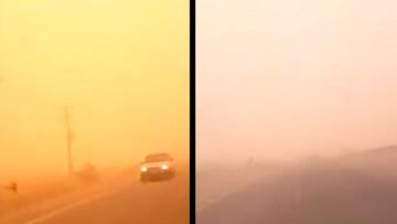 تصاویری هولناک از طوفان شدید در هیرمند / فیلم