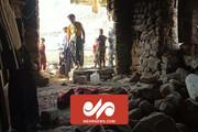 فیلمی از لحظه وقوع زلزله ۵.۷ ریشتری در چلگراد
