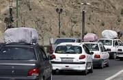 ممنوعیت تردد در محور چالوس و آزادراه تهران - شمال