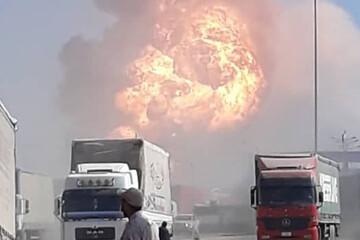 علت آتش سوزی در گمرک دوغارون چه بود؟