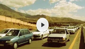 ترافیک شدید ورودی استان گیلان به دلیل هجوم مسافران