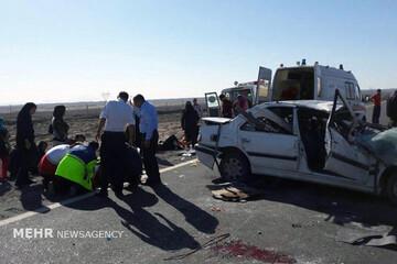مرگ تلخ ۲۰۸ هموطن در اثر تصادف در استان آذربایجان غربی