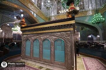 تصاویر کمیاب و دیده نشده از نخستین فیلم رنگی ضبط شده از حرم امام رضا(ع) در سال ۱۳۱۸ / فیلم