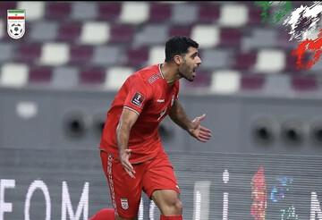 تک گل برتری ایران مقابل امارات توسط گل مهدی طارمی در مقدماتی جامجهانی / فیلم