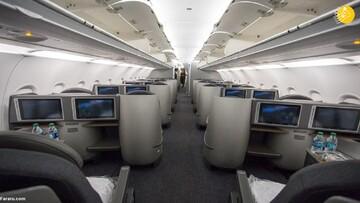 ویدیو دیدنی از کابین و امکانات جذاب هواپیمای ایرباس