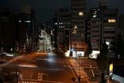 اقدام جالب مجری تلویزیون ژاپن هنگام وقوع زلزله وحشتناک / فیلم