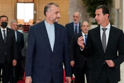 استقبال بشار اسد از امیرعبداللهیان / فیلم