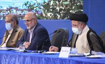نشست شورای اداری استان بوشهر با حضور رئیسی / تصاویر