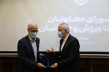 طنابزنی وزیر ورزش سوژه شد / فیلم