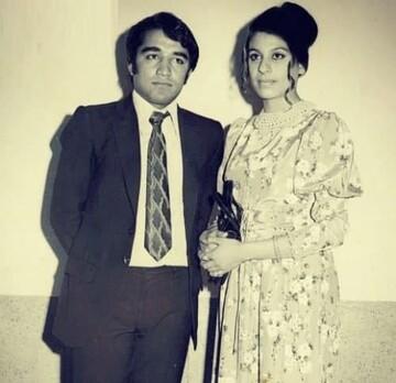 گوهر خیراندیش و همسرش در سالهای پیش از انقلاب / عکس
