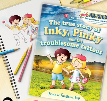 دفتر نقاشی با طرح شخصیت های کارتونی جذاب