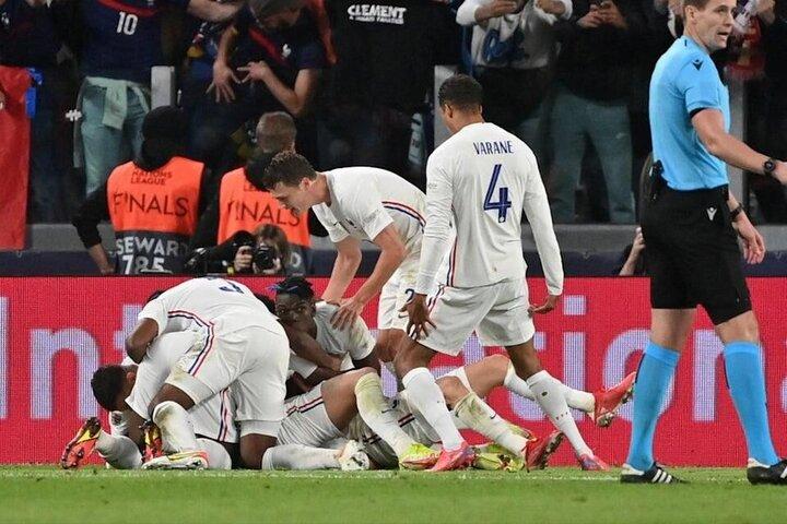 خلاصه دیدار اسپانیا ۱-۲ فرانسه در فینال لیگ ملتهای اروپا / فیلم
