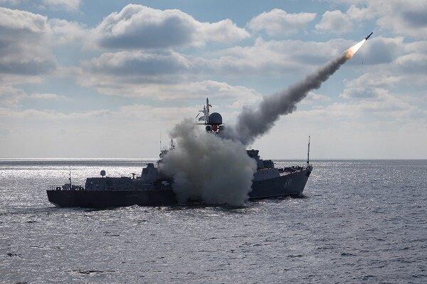 رزمایش نیروی دریایی روسیه در دریای ژاپن