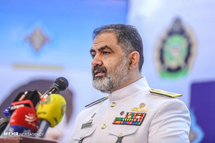 نیروی دریایی ارتش آماده دفاع از مرزهای آبی کشور است