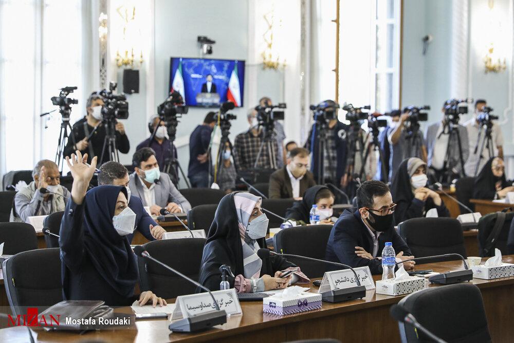 نشست خبری سخنگوی وزارت امور خارجه / تصاویر