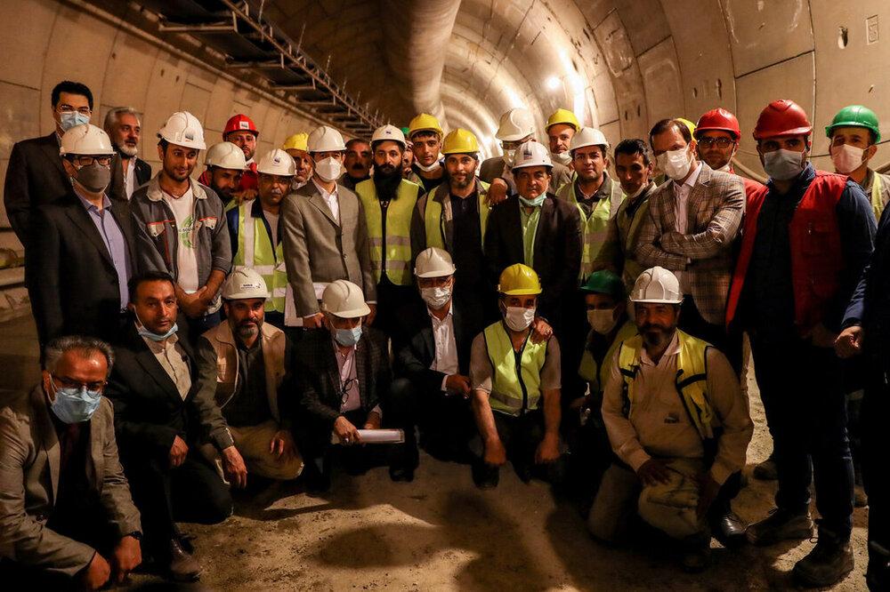 افتتاح ایستگاه شهید رضایی در خط ۶ مترو تهران