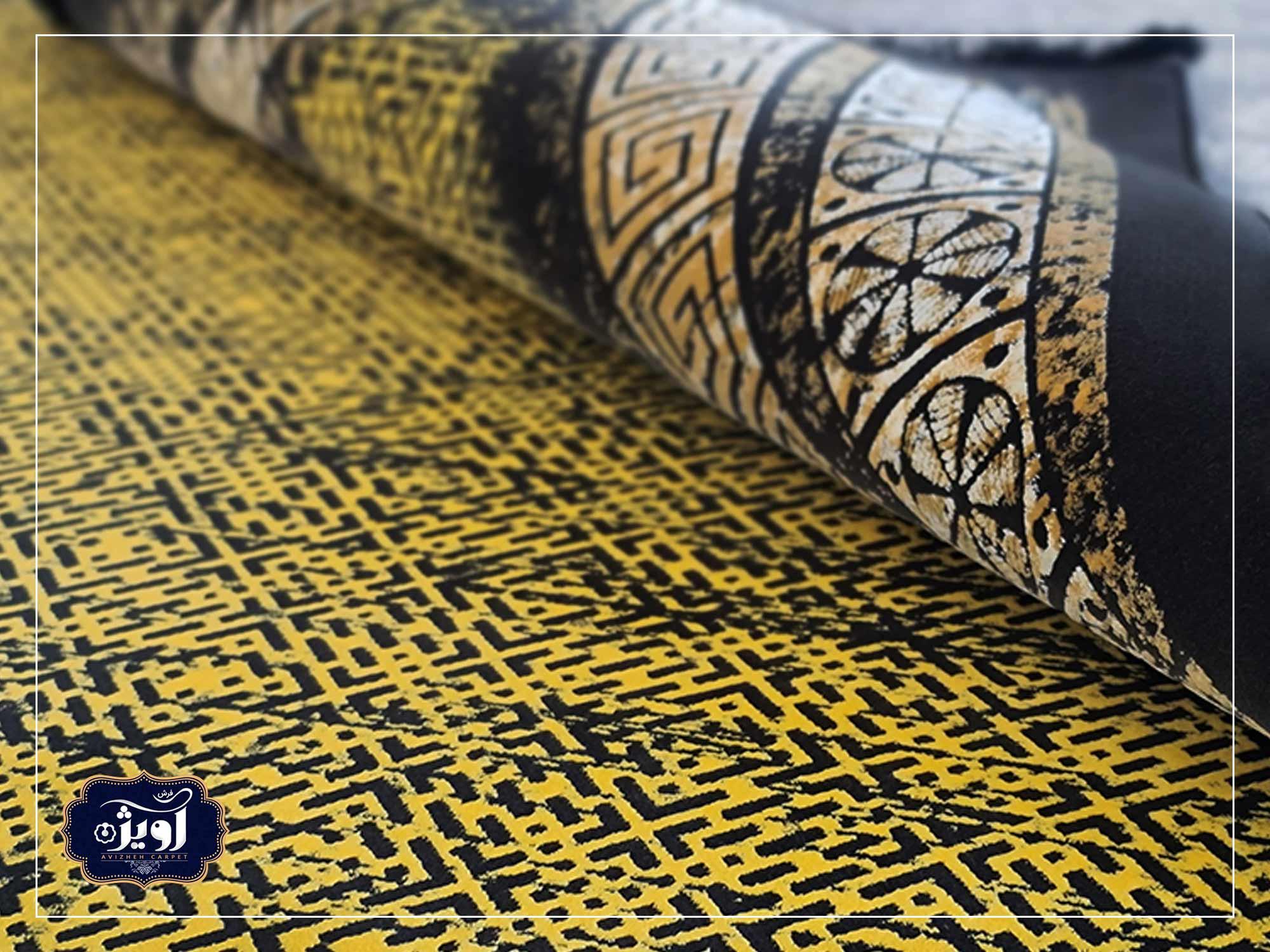 قدمت فرش ماشینی کاشان