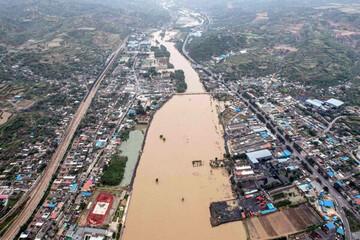 سیلاب در چین ۱۵ کشته و ۳ مفقودی برجای گذاشت