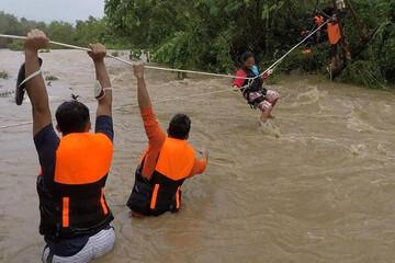 ۹ کشته و ۱۱ مفقودی بر اثر وقوع طوفان در فیلیپین