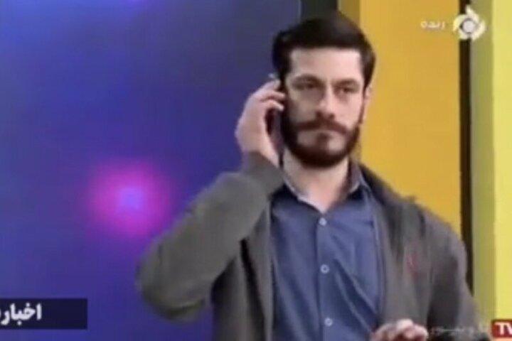 کنایه عجیب مجری تلویزیون به باشگاه استقلال در برنامه زنده / فیلم