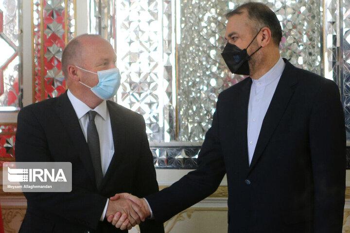 دیدار امیرعبداللهیان با رییس مجلس سوییس
