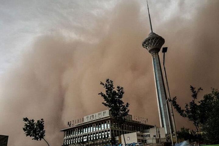 تهرانیها منتظر خیزش گرد و خاک باشند