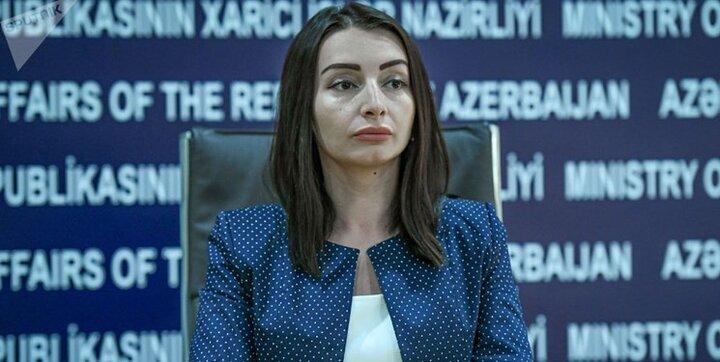سخنگوی وزارت خارجه جمهوری آذربایجان : اظهارات ضد باکو به نفع ایران نیست