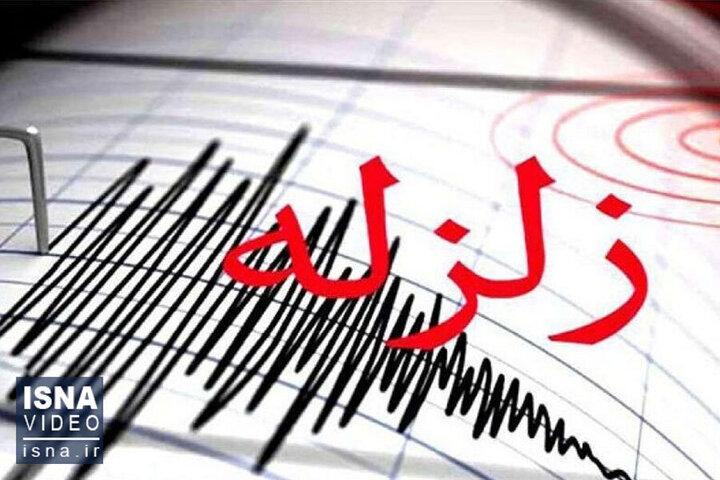 وقوع زلزله در همدان