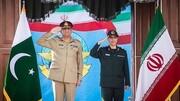 دیدار رییس ستاد کل نیروهای مسلح با فرمانده ارتش پاکستان