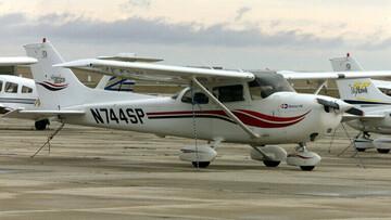 یک فروند هواپیمای آموزشی در لبنان سقوط کرد