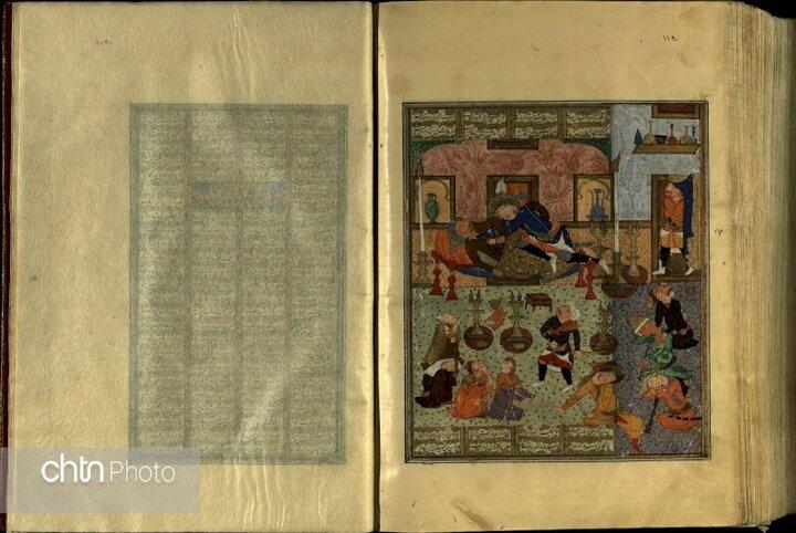 نسخه خطی شاهنامه فردوسی امروز در کاخ گلستان رونمایی میشود