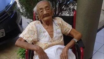 مرگ سومین فرد پیر جهان به دلیل ابتلا به کرونا / عکس