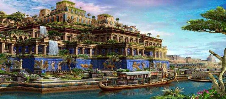 حقایقی جالب و خواندنی درباره باغهای معلق بابل که با شنیدن آن شگفتزده میشوید!