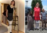 این زن بلندقدترین زن زنده در جهان است! / عکس