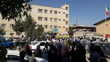 علت تجمع اعتراضی معلمان در روز گذشته چه بود؟