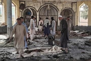 انفجار هولناک در مسجد شیعیان قندهار / فیلم