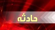 ویدیو هولناک از تصادف مرگبار در اصفهان   برخورد پراید با تیر چراغ برق