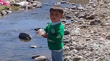قاتل کودک ۳ ساله بستان آبادی دستگیر شد / جنازه امیرعلی در گونی کشف شد! + عکس