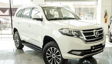ورود خودروی شاسی بلند جدید چینی به بازار ایران + قیمت