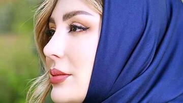اقدام عجیب نیوشا ضیغمی برای نشان دادن لباس و جواهرات لاکچری اش / عکس