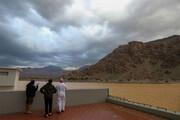 ویدیو ترسناک از تصاویر آخرالزمانی از گردباد شاهین در سواحل عمان